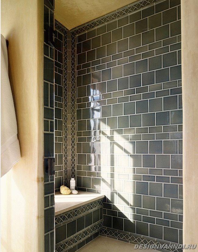 керамическая плитка в ванной фото