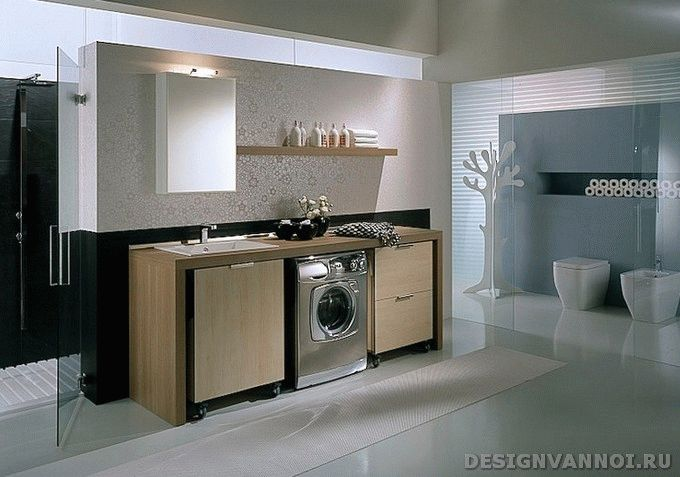 стиральная машина под ванную