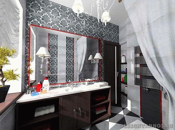 зеркала для ванной с подветкой