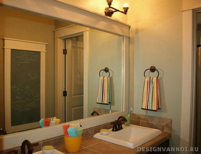 зеркала для ванной с подсветкой
