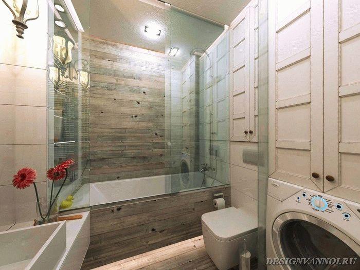 ванна с душевой кабиной фото