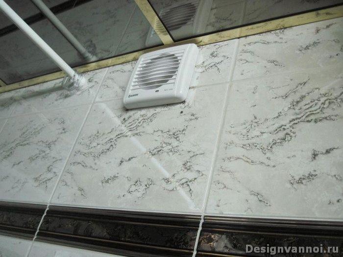 вытяжной вентилятор для ванной
