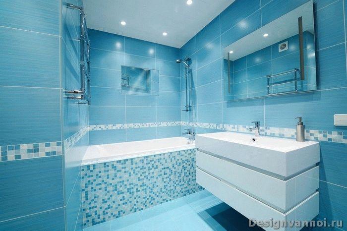 Фото ремонт ванной комнаты мозаика