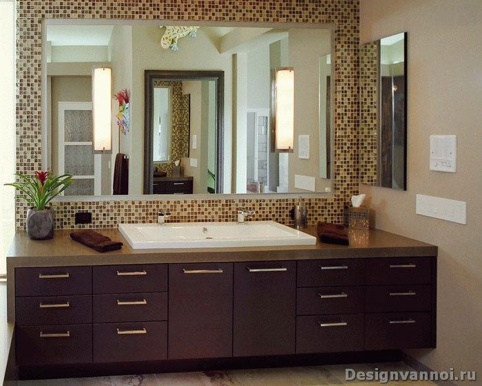 Раковины для ванной комнаты с тумбой