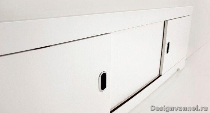 раздвижной экран под ванной