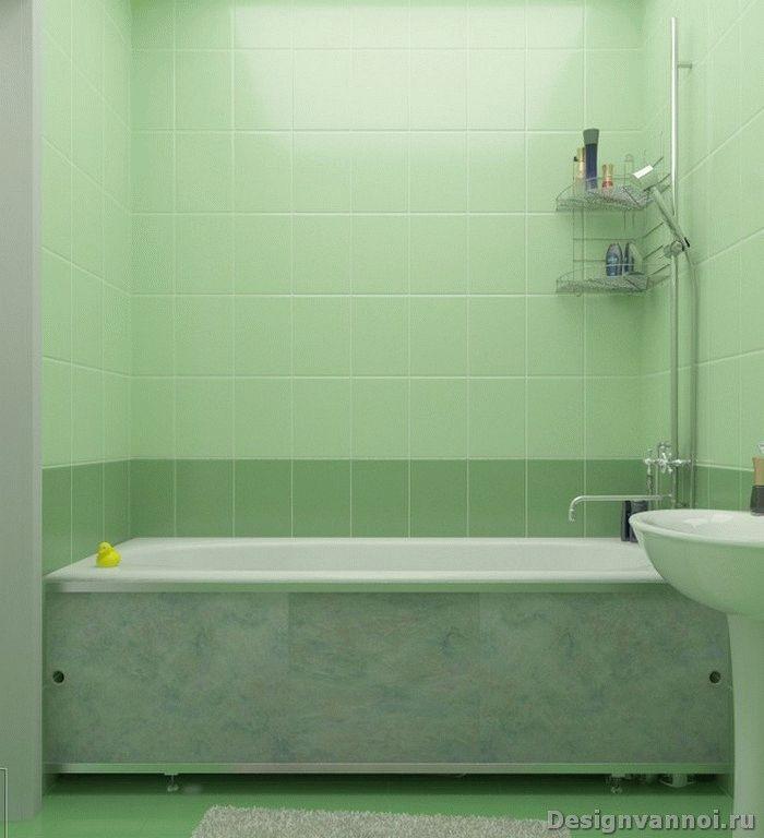 раздвижной экран под ванную