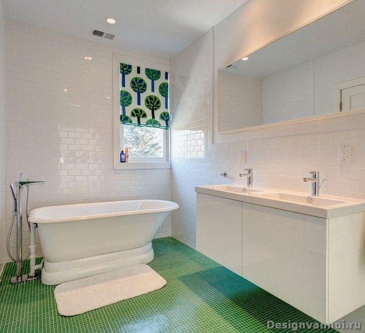 белая ванная комната