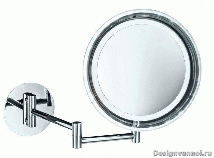 зеркало с поворотным шарниром