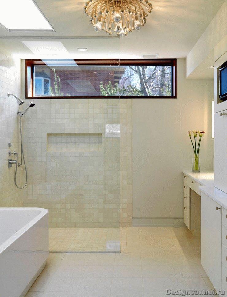 Как сделать окно для ванной