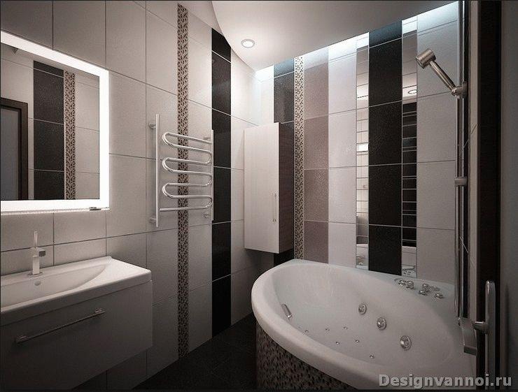 ремонт ванной комнаты маленького размера фото