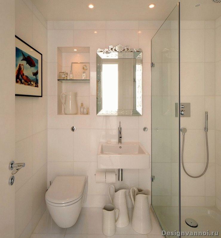 красивые маленькие ванные комнаты