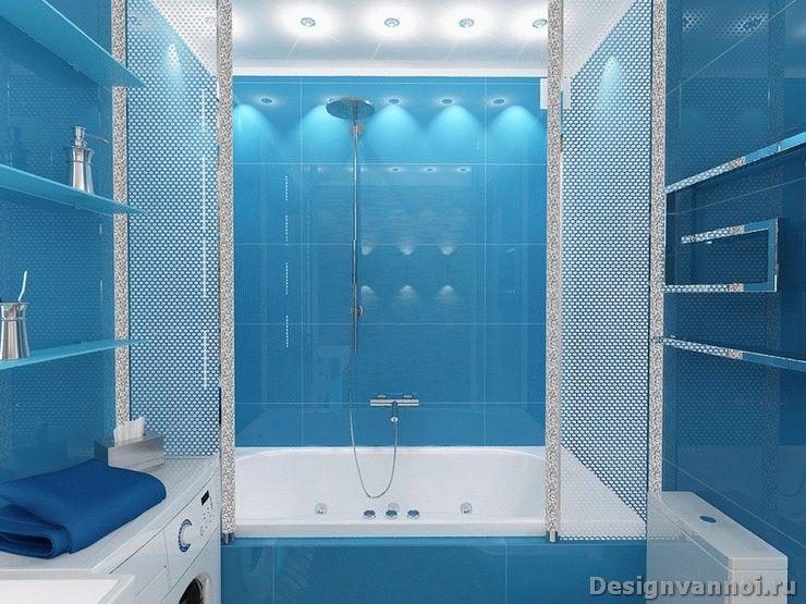 ванная комната фото дизайн синяя