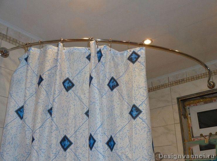 штанги для ванной комнаты