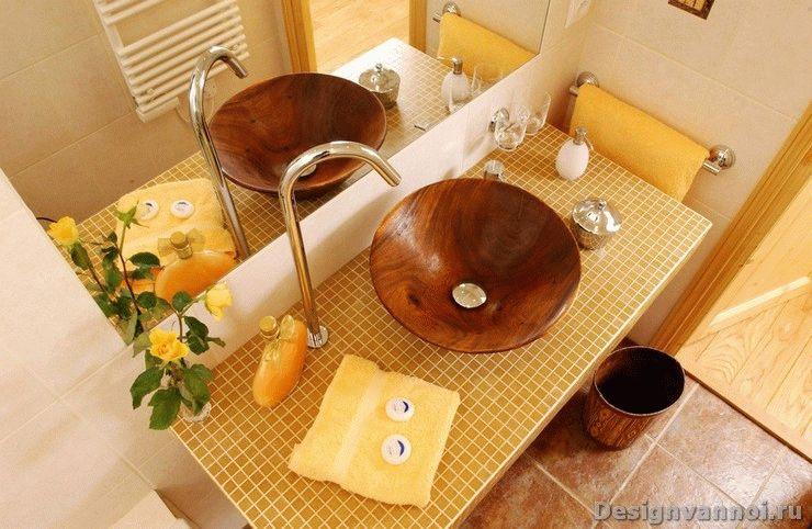 умывальники в ванную комнату