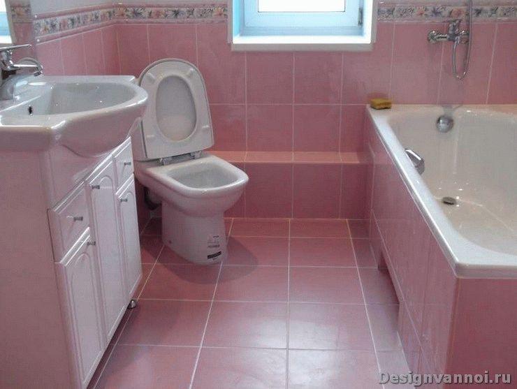 Как замаскировать трубы в ванной комнате