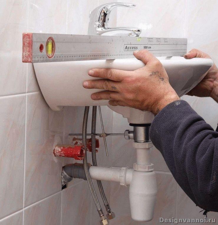установка сантехники в ванной комнате своими руками