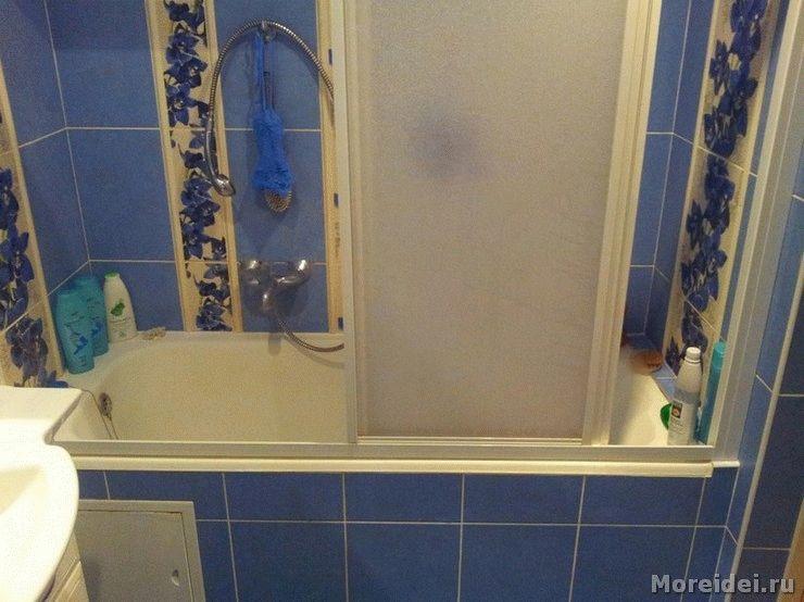 раздвижные шторы для ванной комнаты