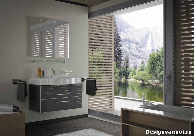 шкаф подвесной в ванную комнату