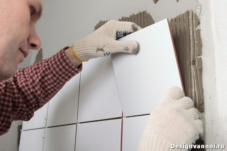 плиточный клей для ванной комнаты
