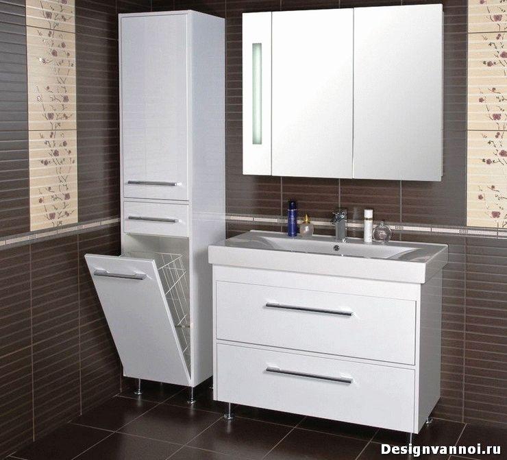 Мебель для ванн мойдодыры белый смеситель купить в