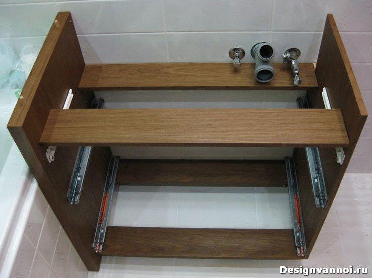 Своими руками мебель в ванную комнату