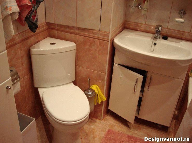 угловая мебель для ванной комнаты
