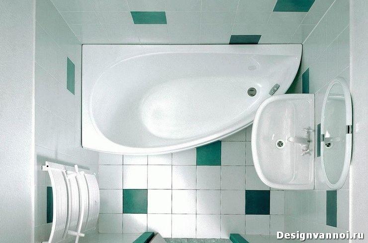как выбрать ванну для маленькой ванной комнаты