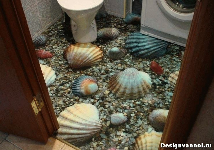 как сделать пол в ванной