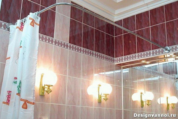 карнизы для ванной комнаты