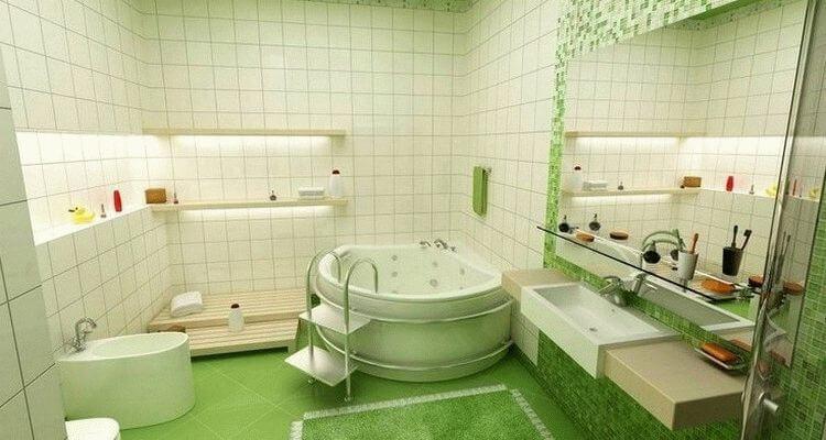 дизайн туалета и ванной комнаты